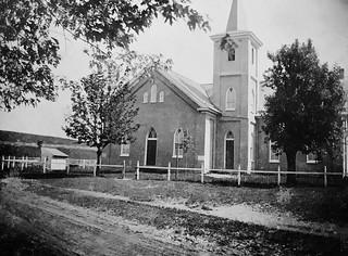 Mt. Zion United Methodist Church, Myersville, Maryland, Circa 1900