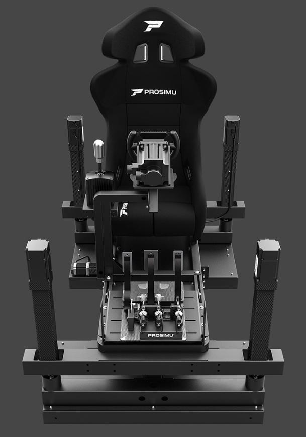 ProSimu T1000 5M 4DOF Motion Cockpit Front