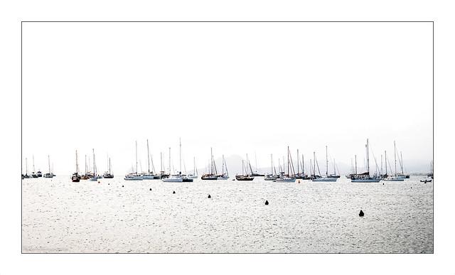 Les bateaux , highkey 1/2