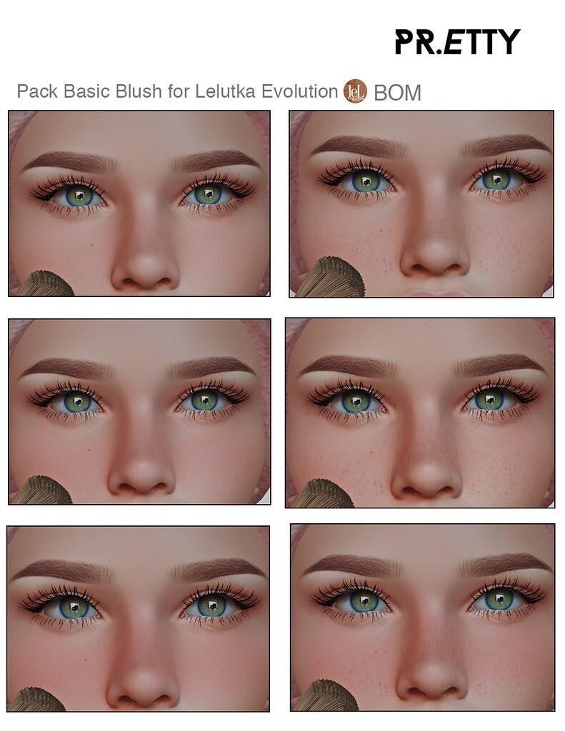 Pr.etty Basic Blush for Lelutka Evolution (BOM)