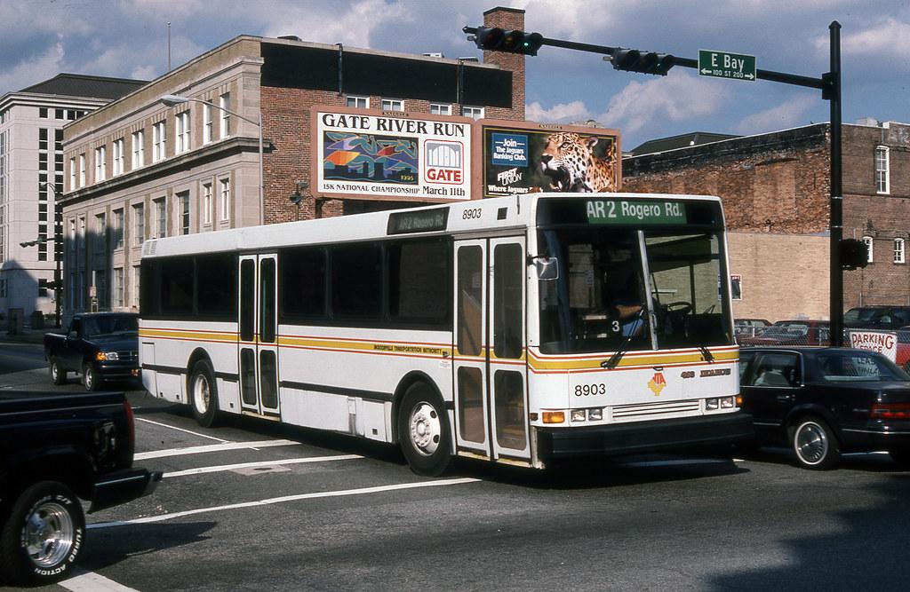 JTA 8903 (Jacksonville) 2-24-1995 aj reinschmidt john lebeau coll