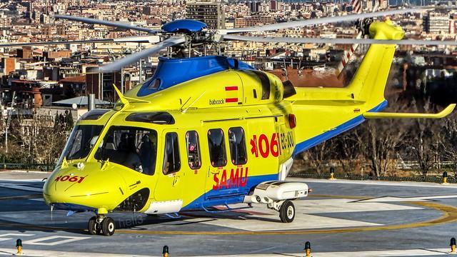AgustaWestland AW139 EC-JOU