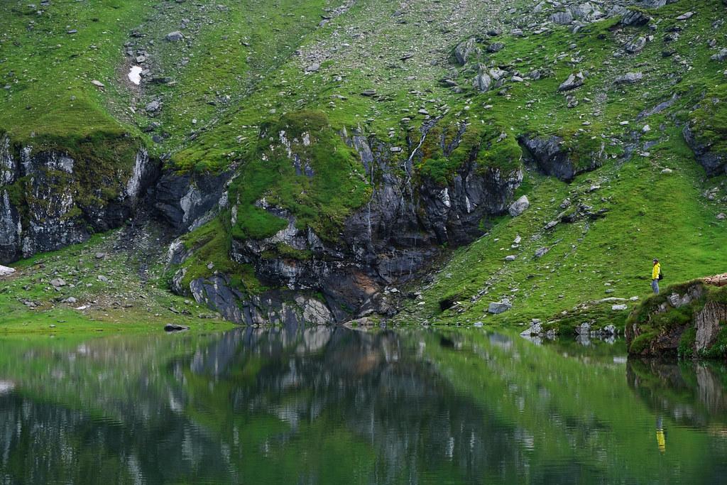 Lake Bâlea, Făgăraș Mountains, Romania