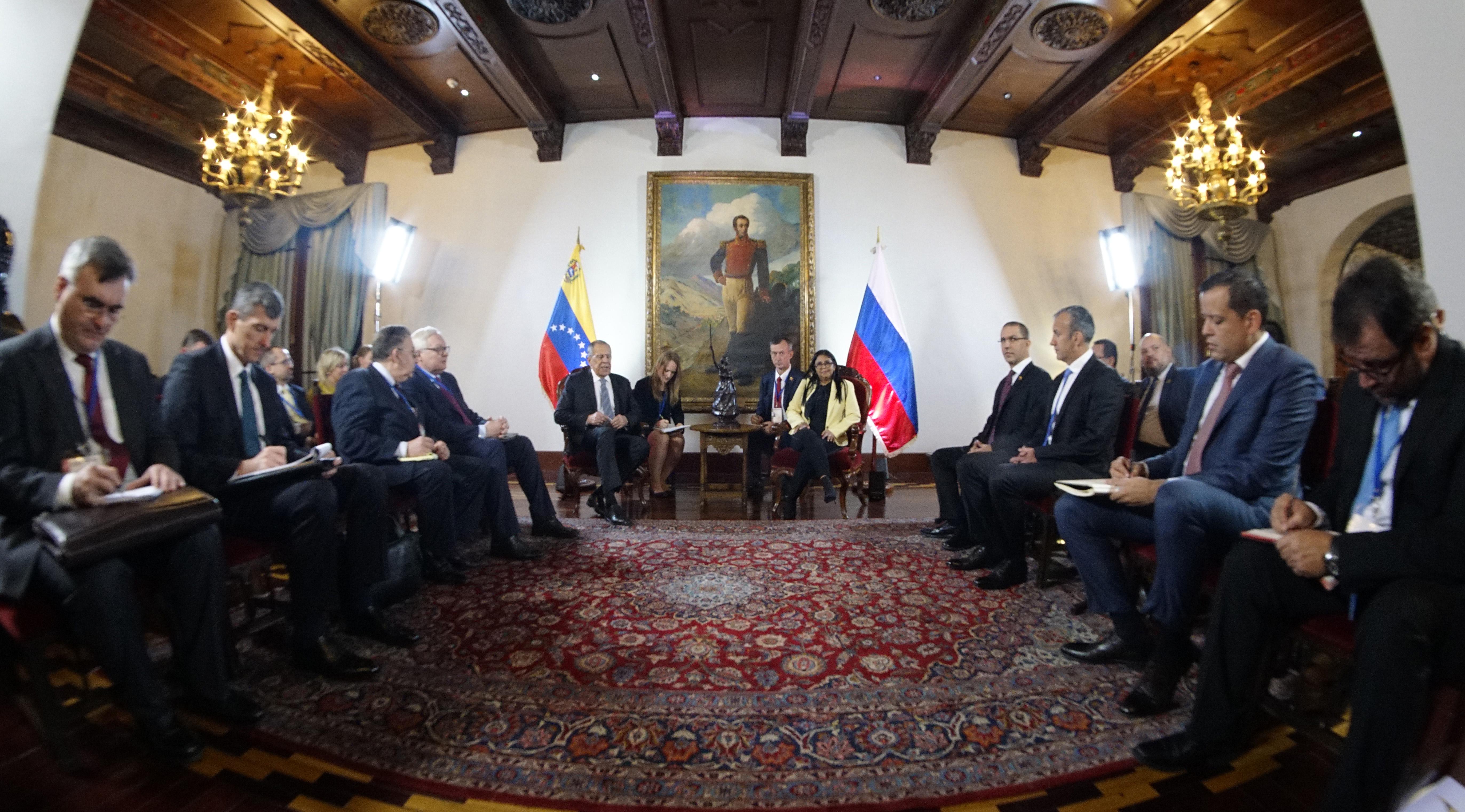 Venezuela y Rusia continúan fortaleciendo relaciones bilaterales