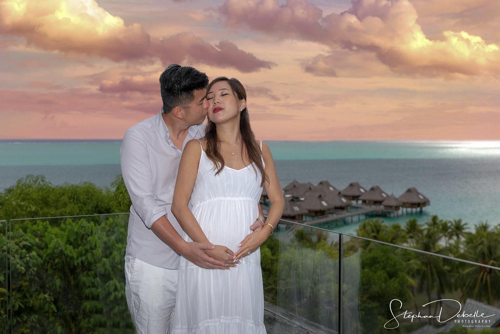 Delia & Kevin - The Conrad Bora Bora