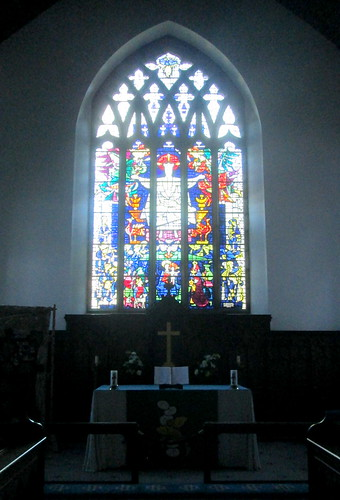 Stained Glass, Wooler Church