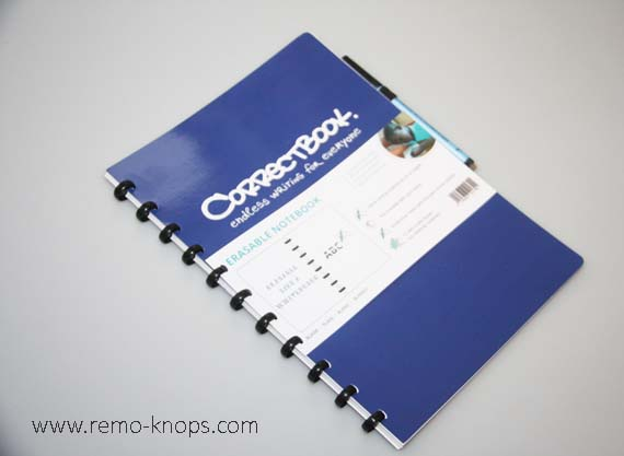 Correctbook whiteboard notebook 8443
