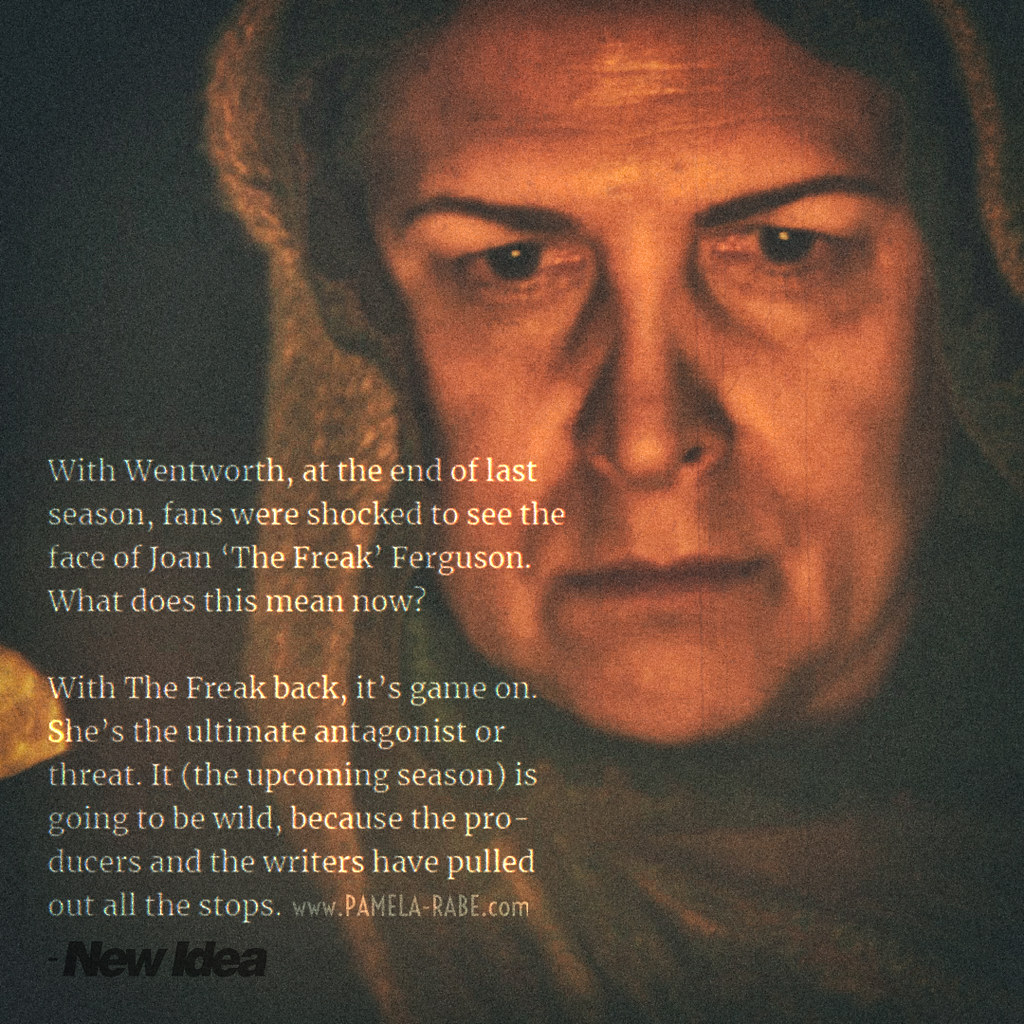 Wentworth Season 8 | Pamela Rabe as Joan Ferguson