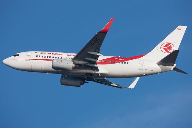 Boeing 737-700C Air Algerie 7T-VKS cn 61340/5862