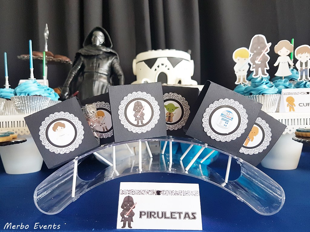 piruletas mesadulce star wars by merbo events