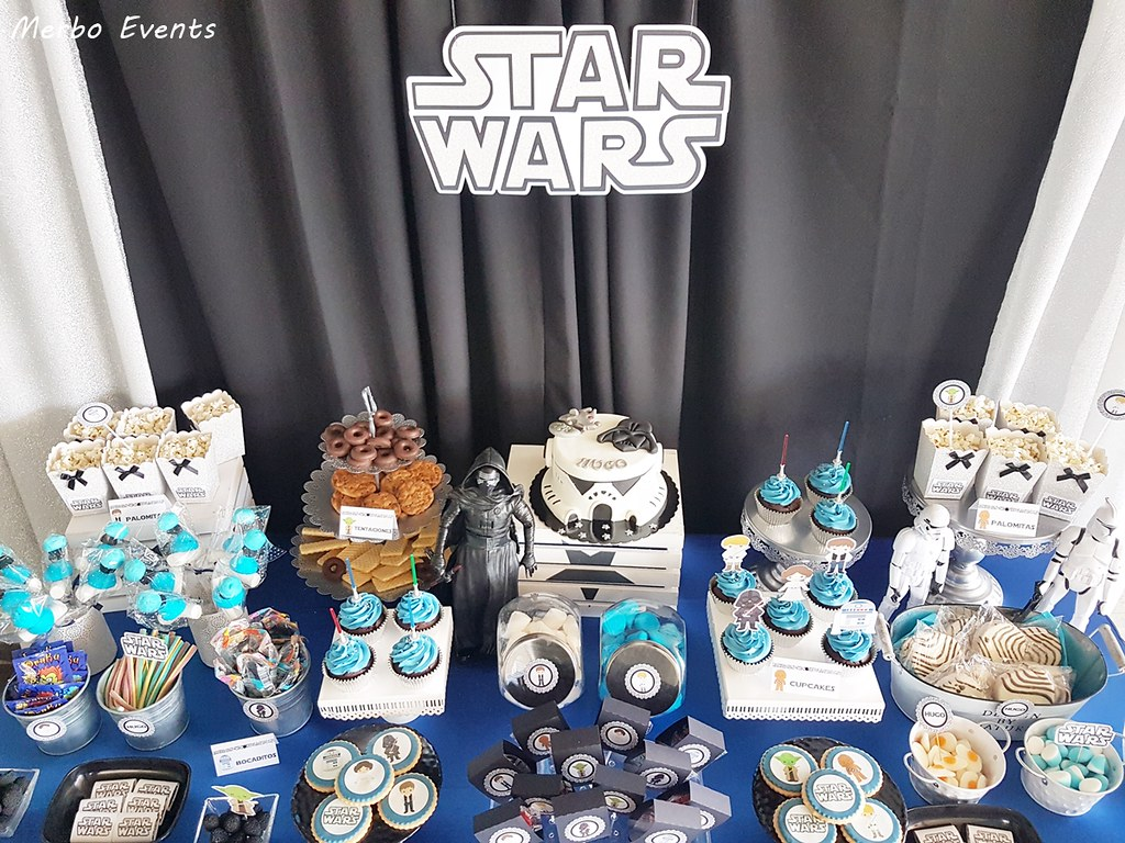 detalles mesadulce comunion star wars by merbo events