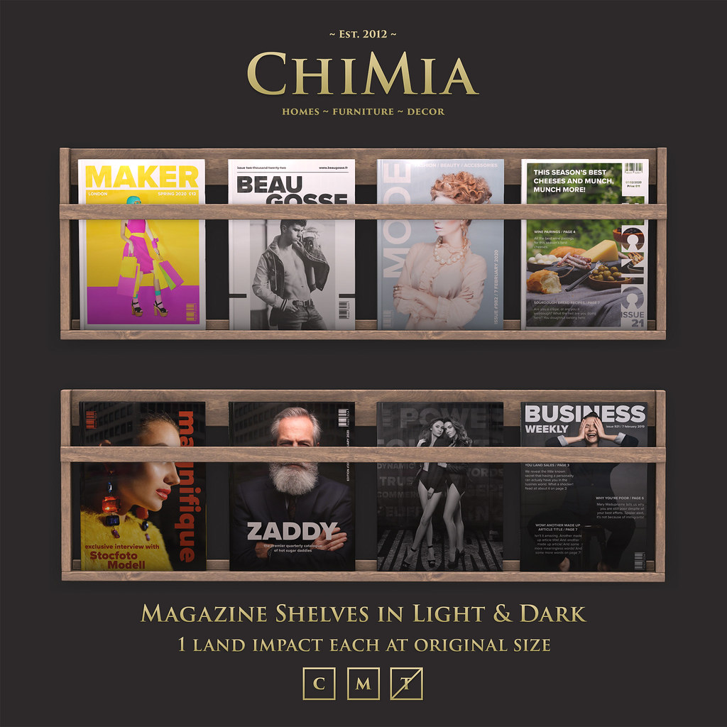 Fifty Linden Fridays 7 Feb: Magazine Shelves by ChiMia