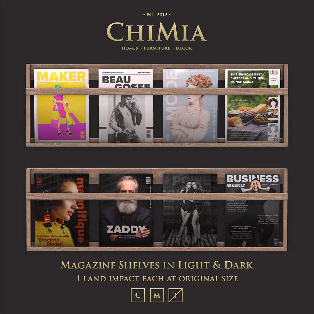 Fifty Linden Fridays 7 Feb: Magazine Shelves by ChiMia