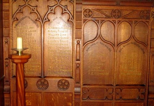 War Memorial Wooler Church