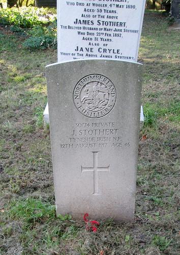 War Grave, Wooler