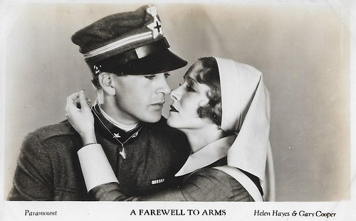 Gary Cooper and Helen Hayes in A Farewell to Arms (1932)