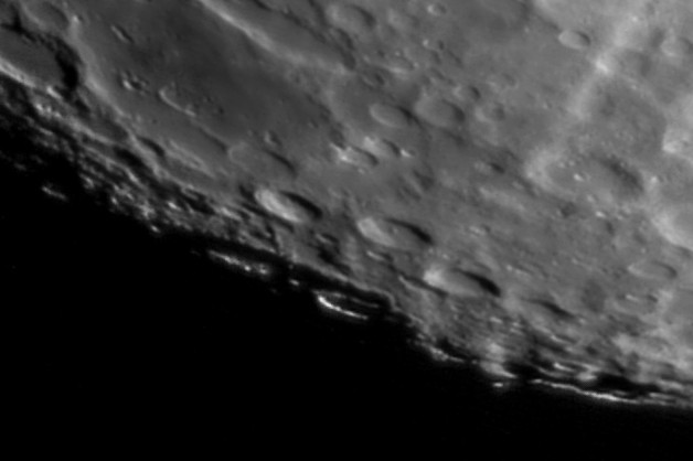 Lunar Crater Bailly 22:09 GMT 06/02/20
