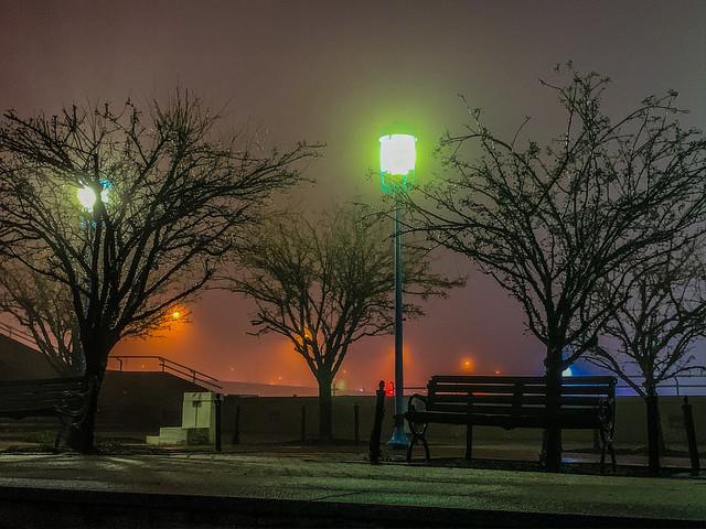 Penns Landing in the Fog