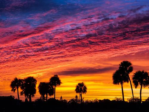 Tonight's sunset (in Explore)