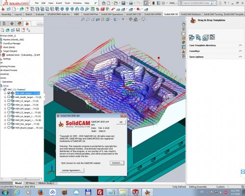 programming with SolidCAM 2020 SP0 for SolidWorks 2012-2020 full