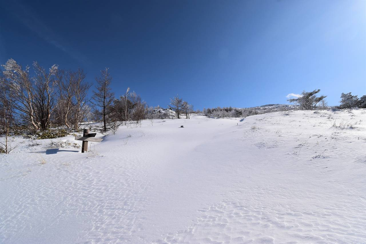 根子岳スノーシューハイク