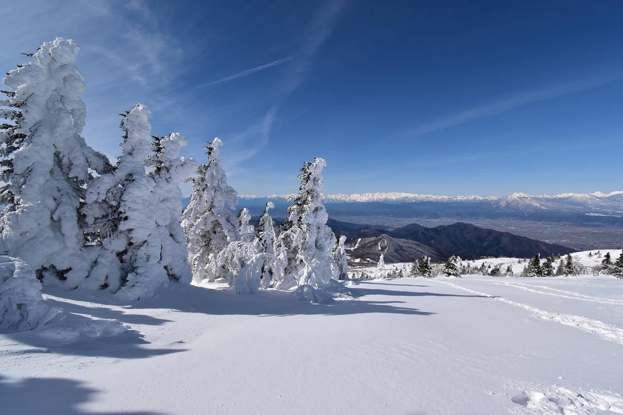 冬の根子岳 スノーシュー日帰り雪山登山