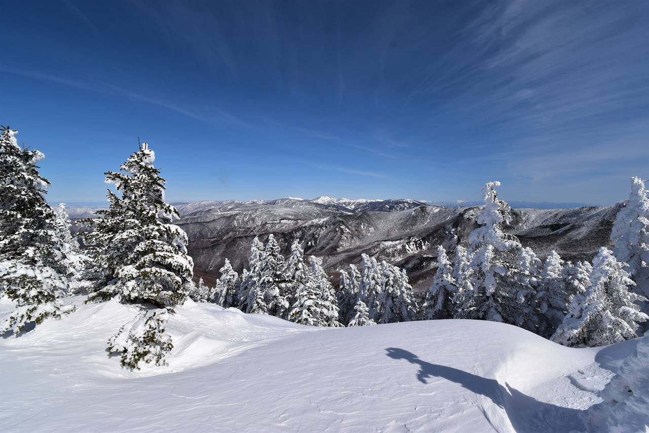 冬の根子岳 日帰り雪山登山