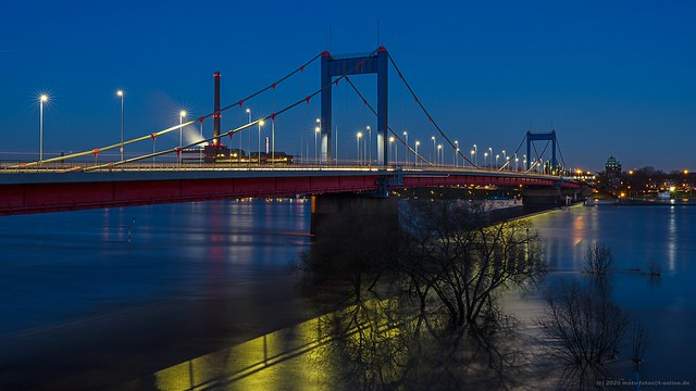 Friedrich-Ebert-Brücke / Friedrich-Ebert-Bridge Duisburg-Homberg