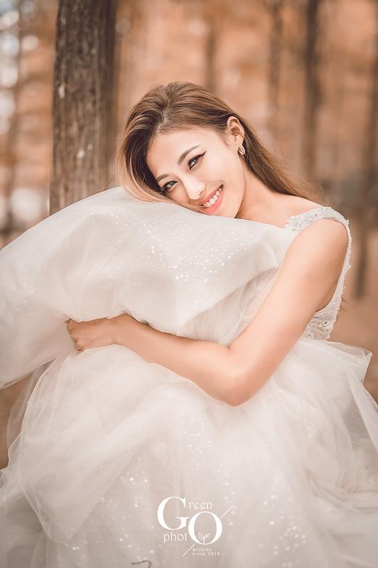 綠攝影像_自主婚紗_電影感婚紗_周上