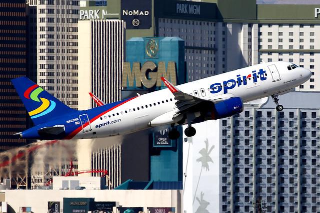 Spirit Airlines | Airbus A320-200 | N629NK | Las Vegas McCarran