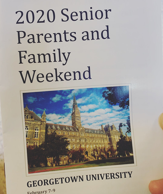 2020 Georgetown Senior Parent Weekend - Day 2
