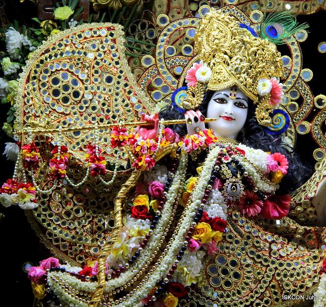 ISKCON Juhu Sringar Deity Darshan on 8th Feb 2020