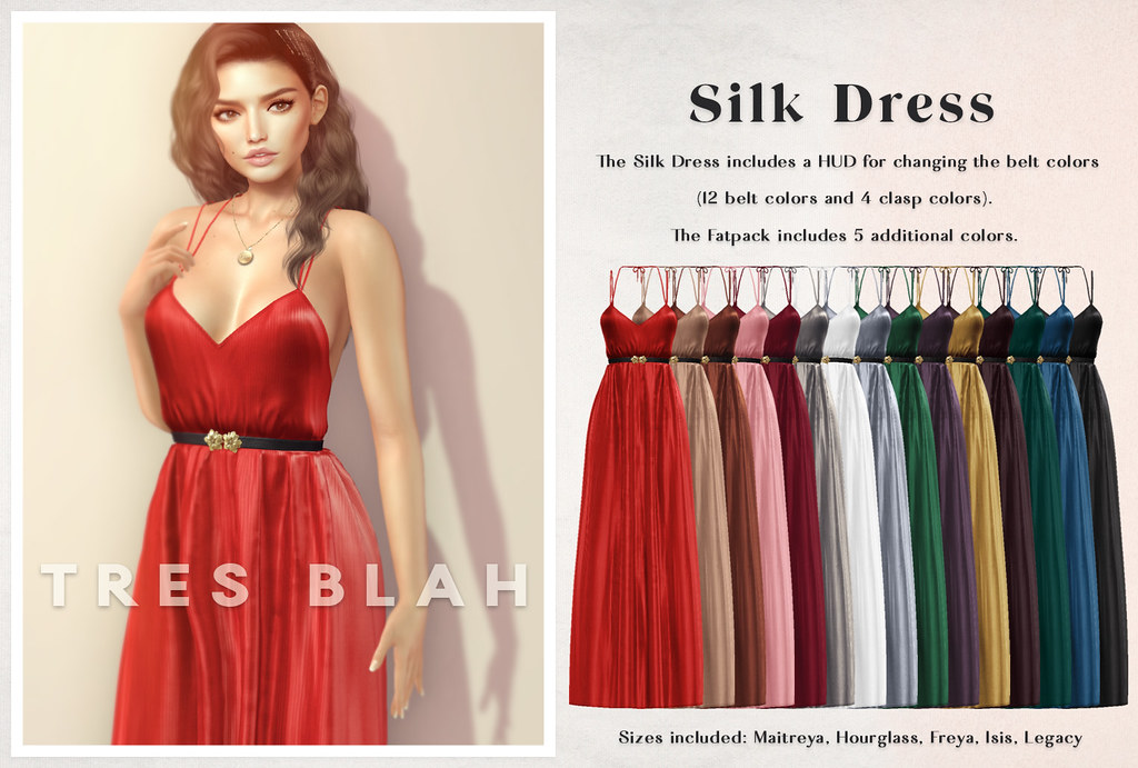 Tres Blah – Silk Dress