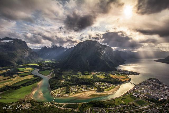 Rampestreken viewpoint - Åndalsnes (Norway)