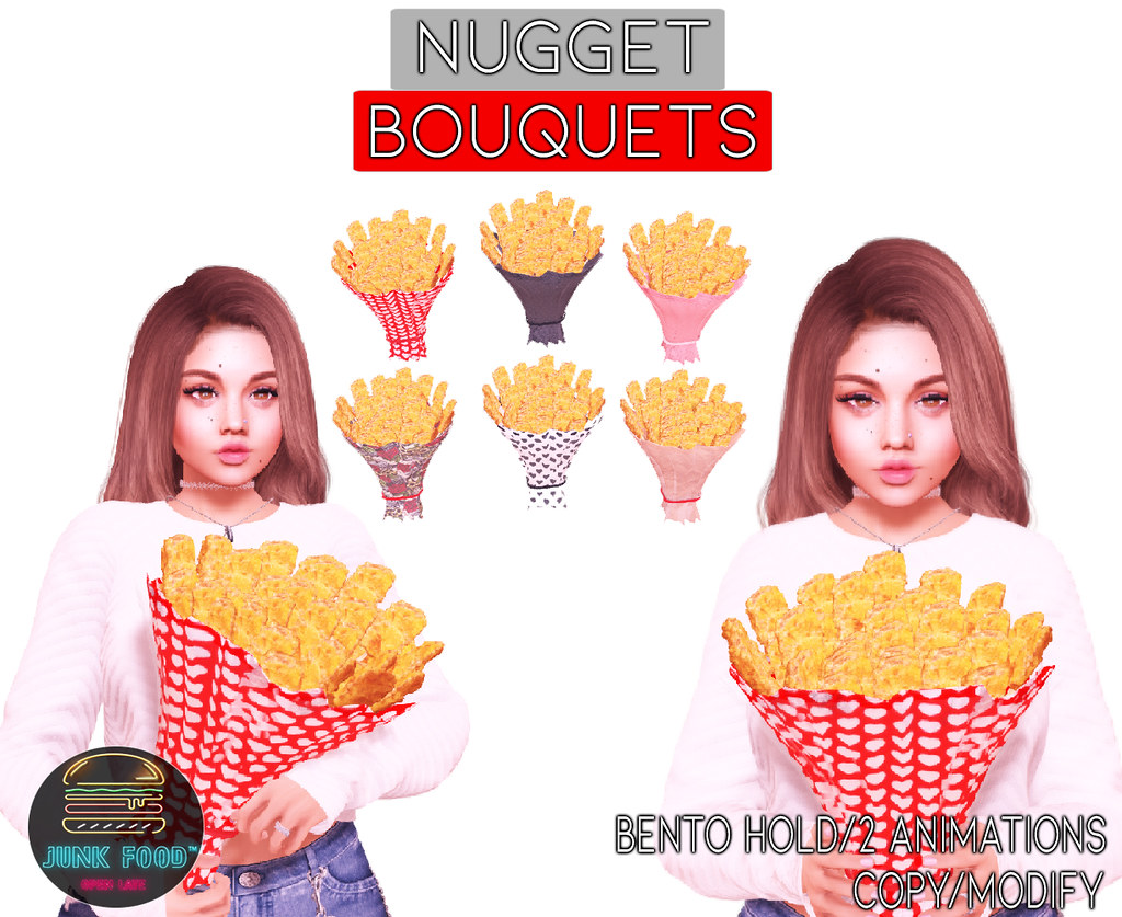 Junk Food – Nugget Bouquet Ads