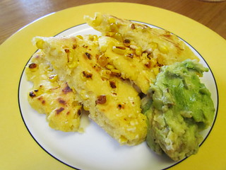 Colombian Grilled Arepas with Corn and Vegan Cheese