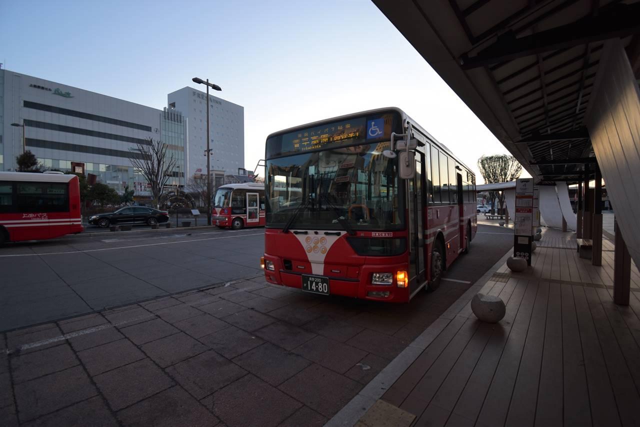 上田駅~菅平高原行きバス
