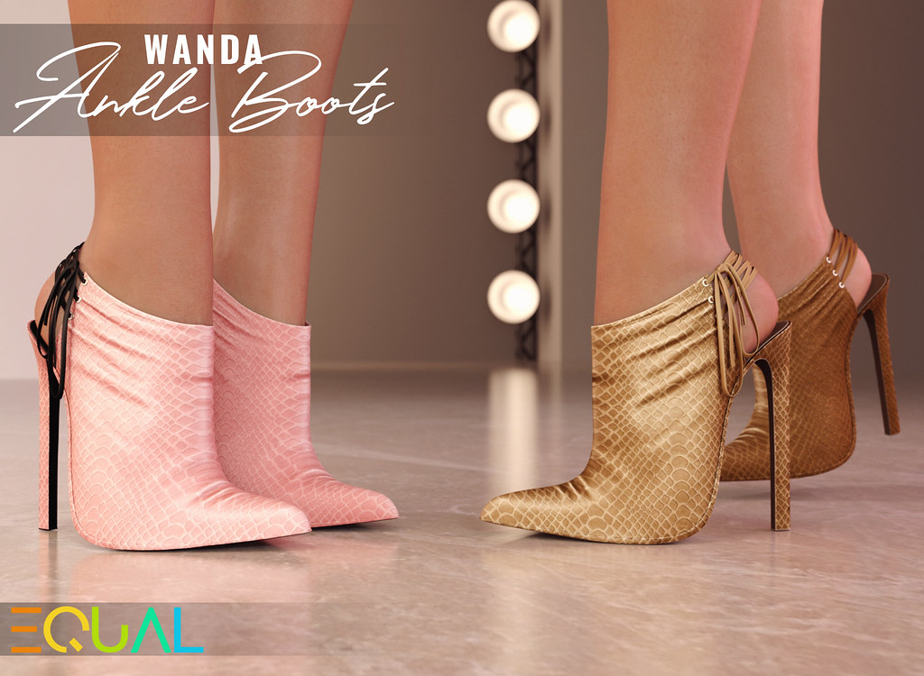 EQUAL – Wanda Ankle Boots
