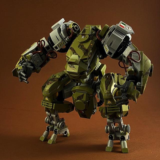 LEGO mech mechanoid robot
