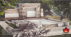 Trompe Loeil - Hensley Modern Pool