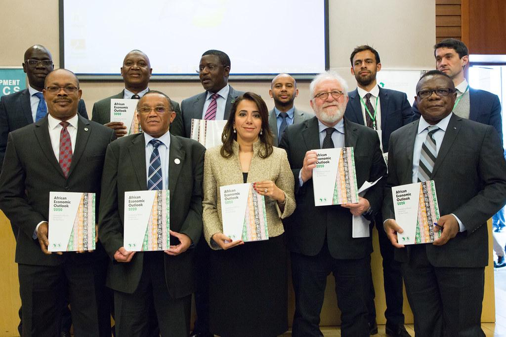 2020 African Economic Outlook presentation Addis