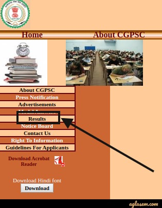 CGPSC Result CGPSC Result 2020 Out- Date, Result, Cut Off (psc.cg.gov.in)