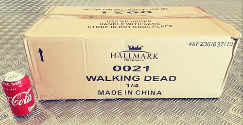 WALKING DEAD COMPOUND CAKE by HALLMARK FIREWORKS