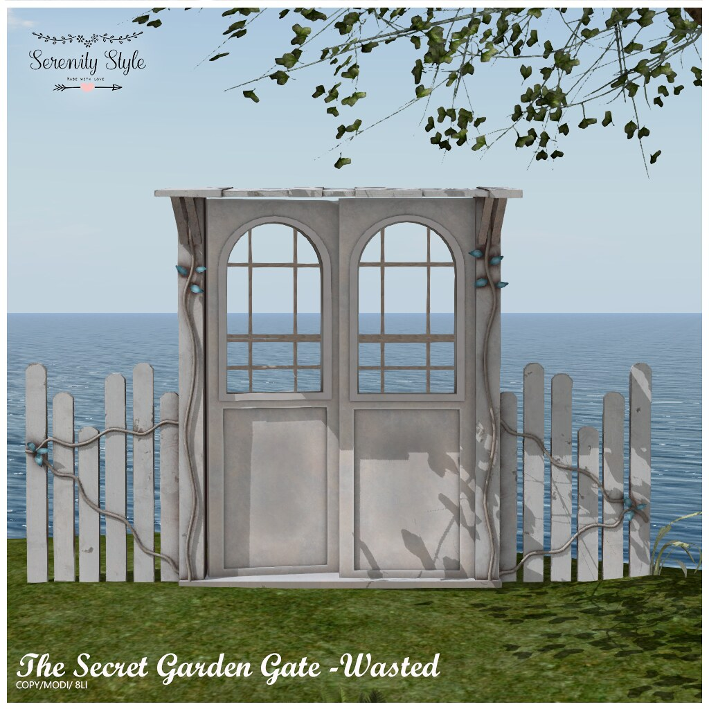Serenity Style- The Secret Garden Gate-Wasted