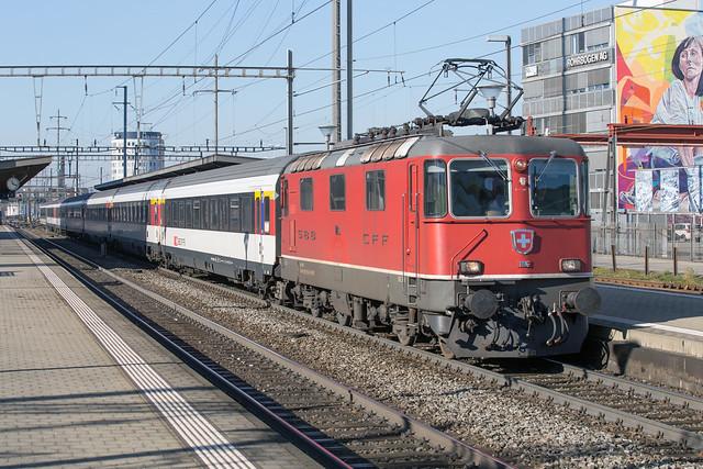 SBB Re 4/4 420 116 Pratteln
