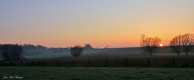 Matin brume - Sunrise