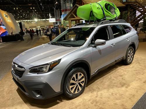 Chicago Auto Show 2020. Subaru Outback Photo