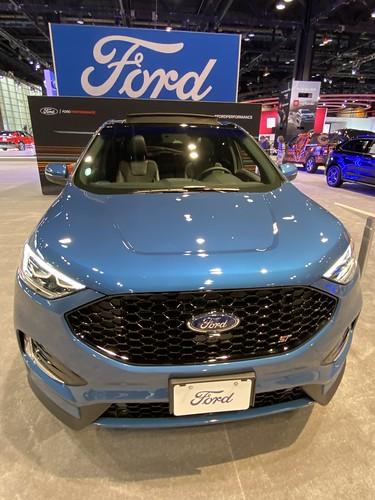 Chicago Auto Show 2020. Ford Edge Photo
