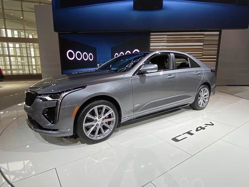Chicago Auto Show 2020. Cadillac CT4 V Photo