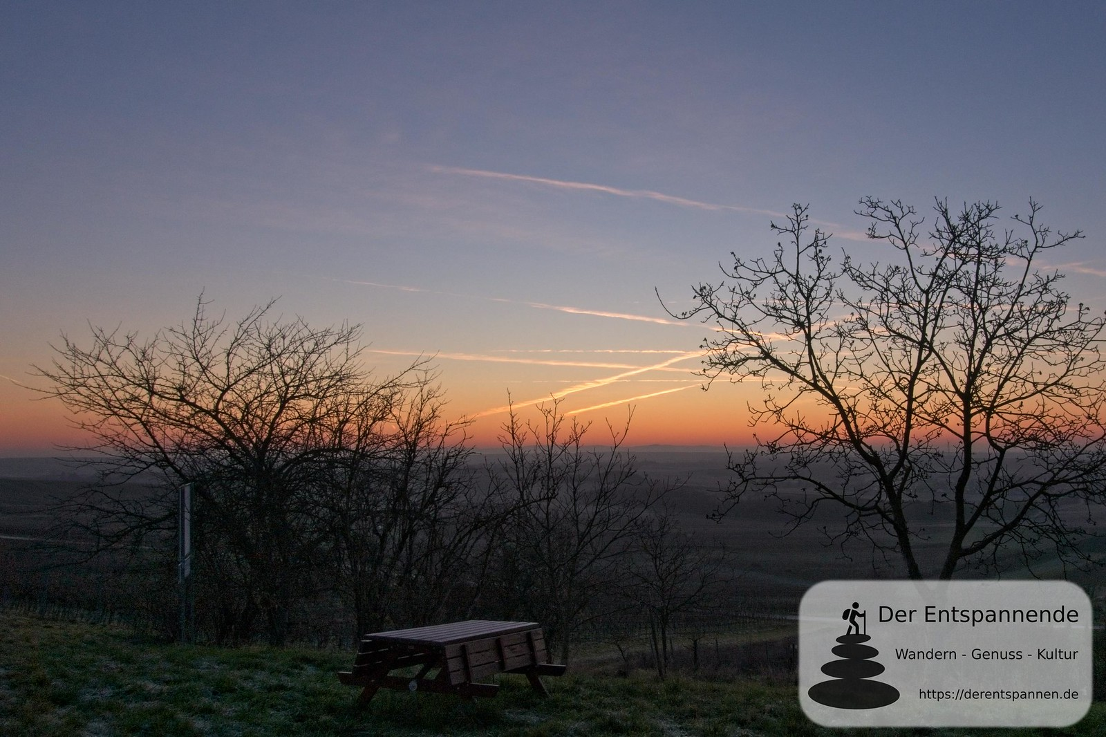 Am Jubiläumswald Selzen im Gottesgarten (Januar am Selzbogen)